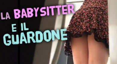 La baby sitter e il guardone