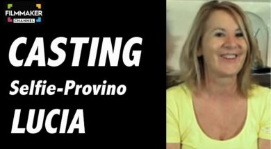 Casting on line FilmMaker Channel: selfie-provino provino Lucia