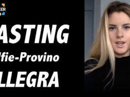 Casting on line FilmMaker Channel: selfie-provino Allegra