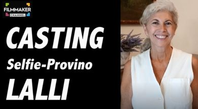Casting on line FilmMakerChannel: selfie-provino Lalli